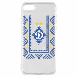 Чехол для iPhone 7 Dynamo logo and ornament