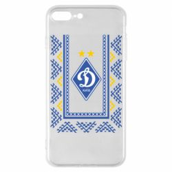 Чехол для iPhone 7 Plus Dynamo logo and ornament