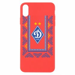 Чехол для iPhone X/Xs Dynamo logo and ornament