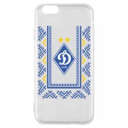 Чехол для iPhone 6/6S Dynamo logo and ornament