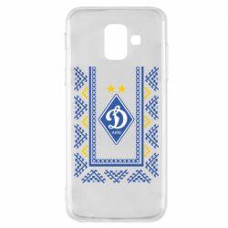 Чехол для Samsung A6 2018 Dynamo logo and ornament