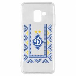 Чехол для Samsung A8 2018 Dynamo logo and ornament