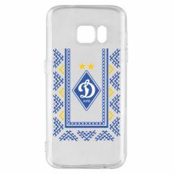 Чехол для Samsung S7 Dynamo logo and ornament