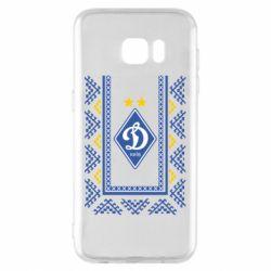 Чехол для Samsung S7 EDGE Dynamo logo and ornament
