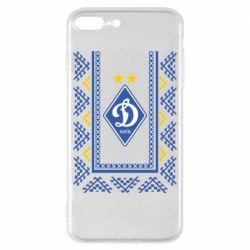 Чехол для iPhone 8 Plus Dynamo logo and ornament