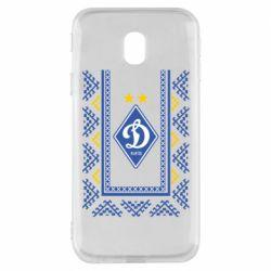 Чехол для Samsung J3 2017 Dynamo logo and ornament