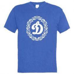 Чоловіча футболка з V-подібним вирізом Dynamo Original