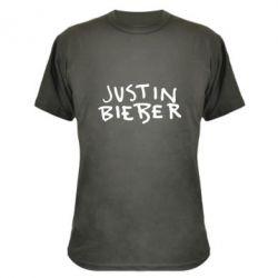 Камуфляжная футболка Джастин Бибер