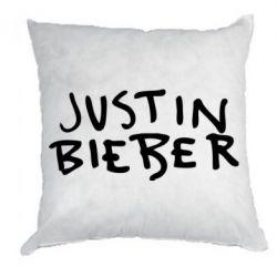 Подушка Джастин Бибер