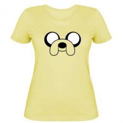 Женская футболка Джейк - FatLine