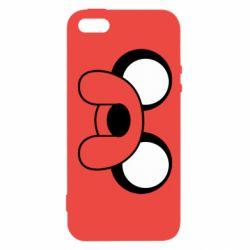 Купить Время приключений, Чехол для iPhone5/5S/SE Джейк, FatLine