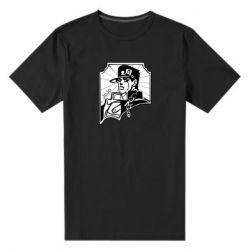 Мужская стрейчевая футболка Джо Джо