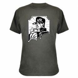 Камуфляжная футболка Джо Джо