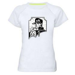 Женская спортивная футболка Джо Джо