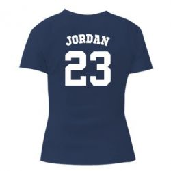 Женская футболка Джордан 23 - FatLine
