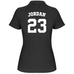 Женская футболка поло Джордан 23 - FatLine