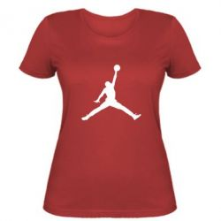 Женская футболка Джордан - FatLine