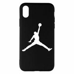 Чохол для iPhone X/Xs Джордан