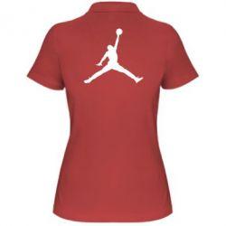 Женская футболка поло Джордан - FatLine