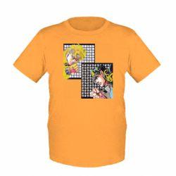 Дитяча футболка Джостер и Дио