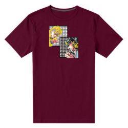Чоловіча стрейчева футболка Джостер и Дио