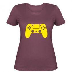Жіноча футболка Джойстик PS4