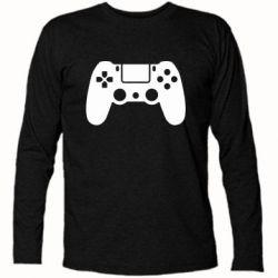 Футболка з довгим рукавом Джойстик PS4