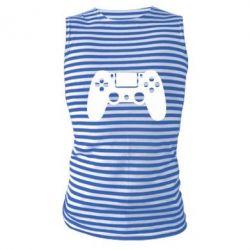 Майка-тільняшка Джойстик PS4