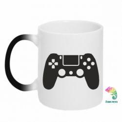 Кружка-хамелеон Джойстик PS4