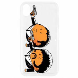 Чехол для iPhone XR Джулс и Винсент - FatLine