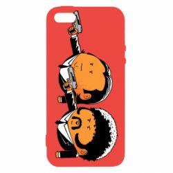 Чехол для iPhone5/5S/SE Джулс и Винсент - FatLine