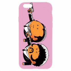 Чехол для iPhone 6/6S Джулс и Винсент - FatLine