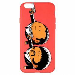 Чехол для iPhone 6 Plus/6S Plus Джулс и Винсент - FatLine