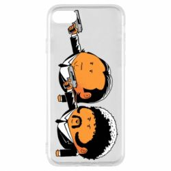 Чехол для iPhone 8 Джулс и Винсент - FatLine