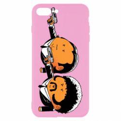 Чехол для iPhone 8 Plus Джулс и Винсент - FatLine
