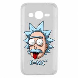 Чохол для Samsung J2 2015 E=MC 2