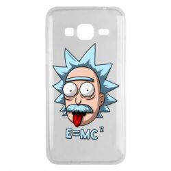 Чохол для Samsung J3 2016 E=MC 2