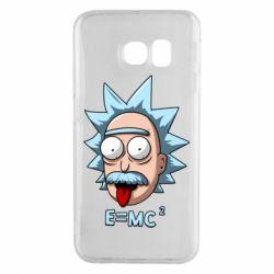 Чохол для Samsung S6 EDGE E=MC 2