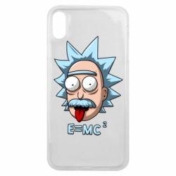 Чохол для iPhone Xs Max E=MC 2