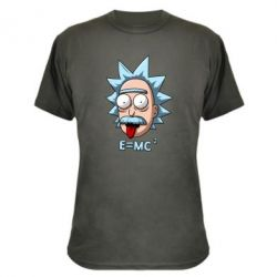 Камуфляжна футболка E=MC 2