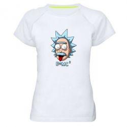 Жіноча спортивна футболка E=MC 2