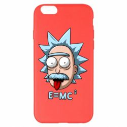 Чохол для iPhone 6 Plus/6S Plus E=MC 2