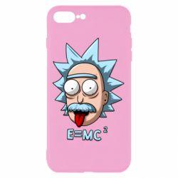 Чохол для iPhone 8 Plus E=MC 2