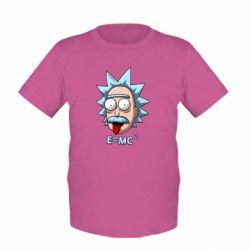 Дитяча футболка E=MC 2