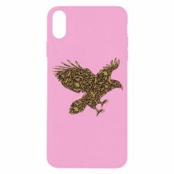 Чехол для iPhone X/Xs Eagle feather