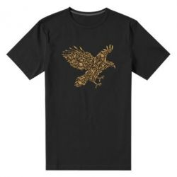 Мужская стрейчевая футболка Eagle feather