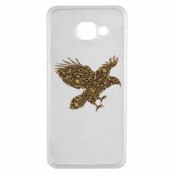 Чехол для Samsung A3 2016 Eagle feather