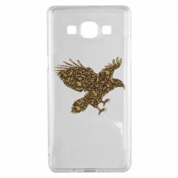 Чехол для Samsung A5 2015 Eagle feather