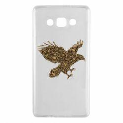 Чехол для Samsung A7 2015 Eagle feather