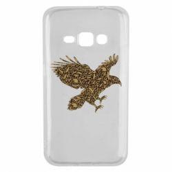 Чехол для Samsung J1 2016 Eagle feather